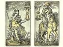 Silver Playing Cards the Complete Set of German Renaissance