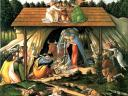 Christmas Card Mystical Nativity Sandro Botticelli