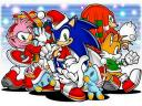 Sonic and Friends Christmas Wallpaper